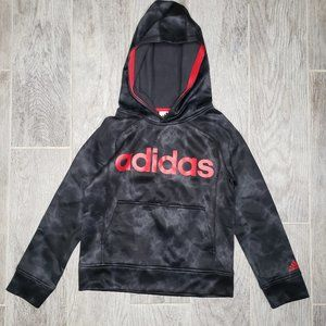 Adidas Logo Thunderstorm Tie Dye Hoodie Sweater